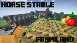 Old Farm/Ranch/Horse Stable - With Farmland And Storehouse Minecraft Map & Project