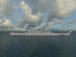 IJN heavy cruiser Senjo Minecraft