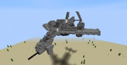 Crysis - MV-24H Vulture VTOL Minecraft Map & Project