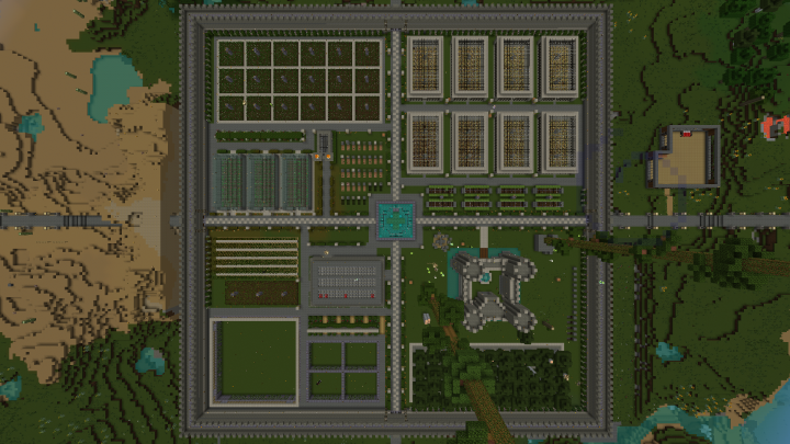 World Spawn April 2016, map style top view