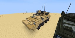 Crysis - Amphibious APC Minecraft Map & Project