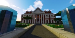 Colonial Mansion - California Style Minecraft Map & Project