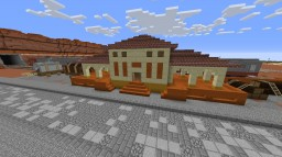 Arizona/Mesa/Western Train Station With Santa Fe Train Minecraft