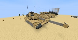 Crysis - M5A2 Atlas MBT & Gauss Tank Minecraft Map & Project