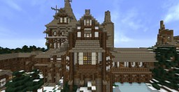 Medieval Snow Manor Minecraft Map & Project