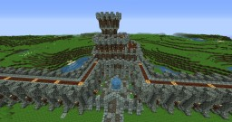 medieval city project, inspired by FancyBluPants Minecraft Map & Project