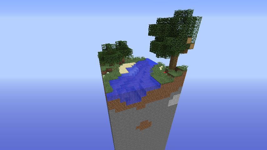 1 Chunk Survival Map Minecraft Project