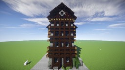 Medieval House with Download! Minecraft Map & Project
