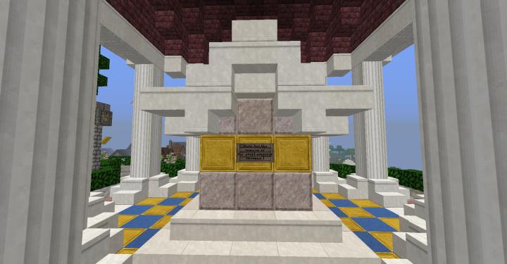 Mausoleum of Emperor Dormian I, founder of the Dormian Empire