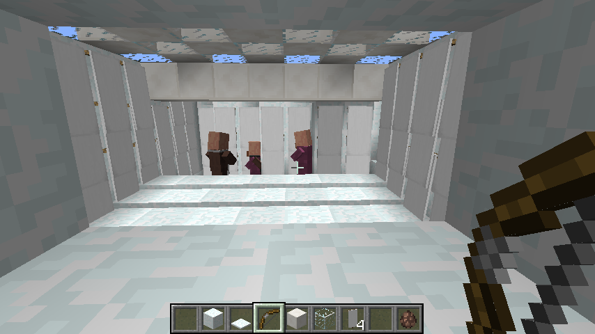 Ames room Minecraft Project