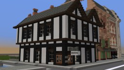 Tudor Pub - The Old Thirteenth Cheshire Astley Volunteer Rifleman Corps - real pub name btw - WOK Minecraft Map & Project