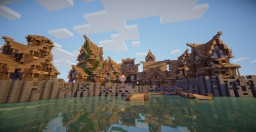 Ciudad medieval / Mediaval city Minecraft Map & Project