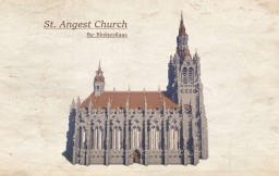 St. Angest Church Minecraft Map & Project