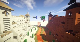 CASTLE PVP Minecraft Map & Project