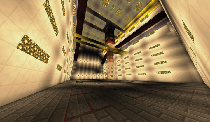 Central Hall of Reactor 3 I had to put more light in it, otherwise it would be too dark