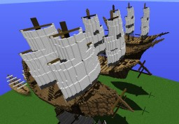 Tall Ships Generator MCEdit Filter Minecraft Map & Project