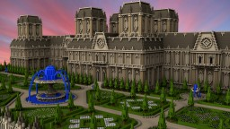 Chateau Soulagement Minecraft
