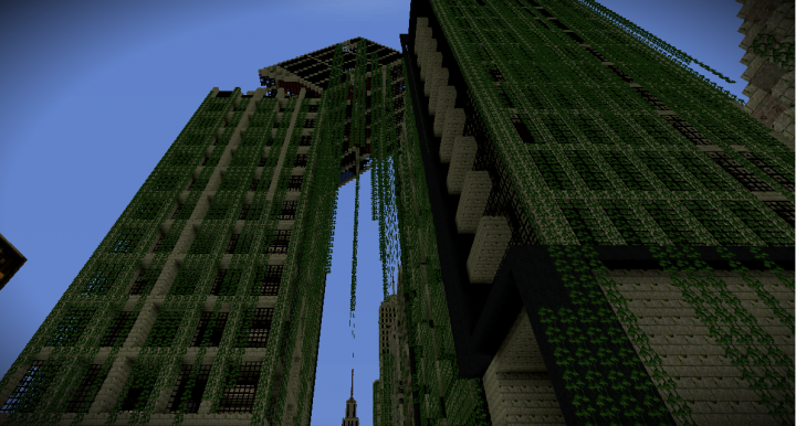 Zombie Apocalypse City Map for 1.8 Minecraft Project on