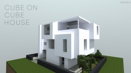 Cube on Cube House Minecraft