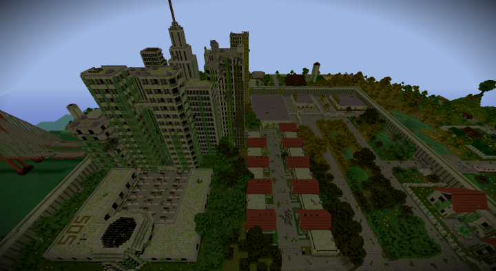 Similiar Zombie Apocalypse Minecraft Server City Keywords