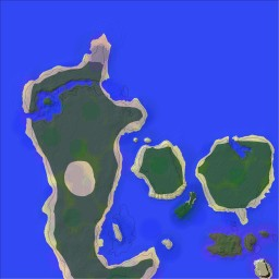Denmark map [2] Download 2000 x 2000 (You can make a survial map on it) Minecraft Map & Project