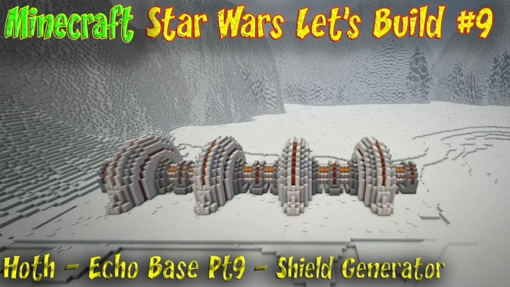 Battle of Hoth Map Echo Base Star Wars Hoth Map Minecraft Map