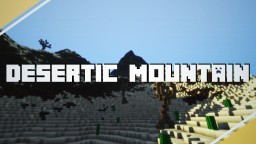 Desertic Mountain - With Dunes! | Custom Brushes, Trees, Layers, and more! [DOWNLOAD!] Minecraft Project