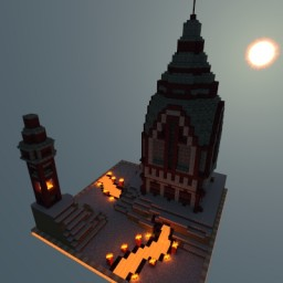 Nether Tower Minecraft Map & Project