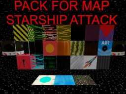 Pack for map Starship Attack Minecraft Texture Pack