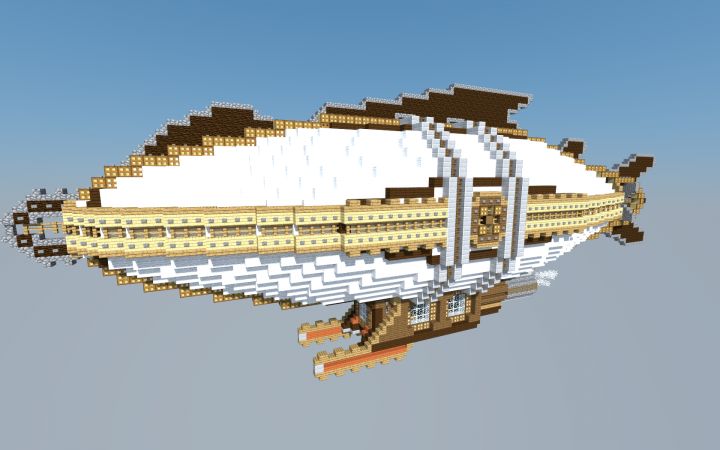 Minecraft Steampunk Airship Steampunk Airship Map ...