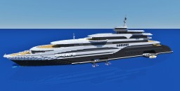 Superyacht S-CAPE  :) Minecraft