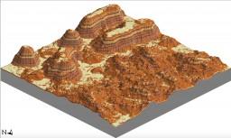 [BRYCE & PLETAU MESA TEST MAP] by Zephyr Minecraft Map & Project