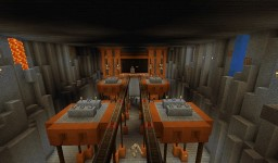 ♠Redstone Base♠ Minecraft Map & Project