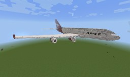 Qantas Airbus A 380 Minecraft Project