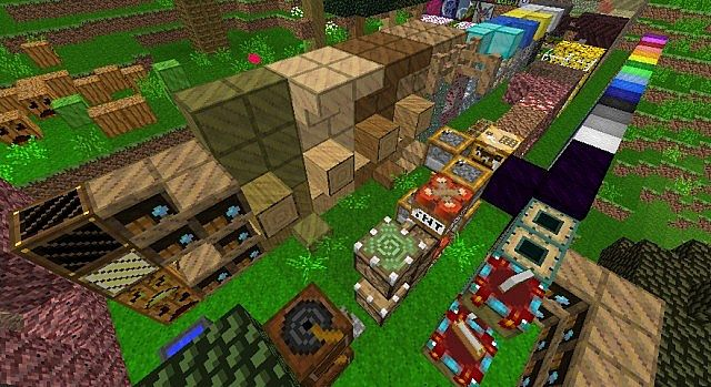 theoverview10107184 [1.9.4/1.9] [16x] Woodcraft Texture Pack Download