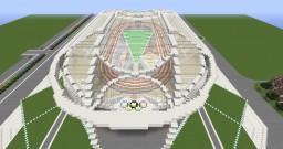 Tokyo 2020 Olympic Stadium Minecraft Map & Project