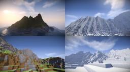Terraforming | 4 custom maps [1024x1024] Minecraft Map & Project