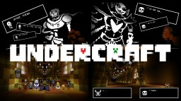 Undertale Minecraft Crossover / Recreation: NEEDS MORE BUILDERS! Minecraft Map & Project