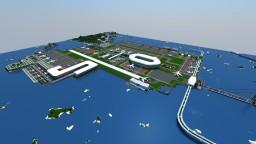 Symount City: GreenSea International Airport Minecraft
