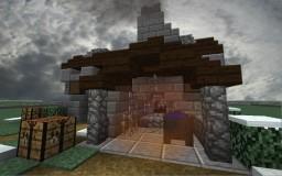 Dwarven blacksmith (style test) Minecraft Map & Project