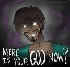 Where is Your God now? (Herobrine Mythos Contest Entry) Minecraft Blog Post