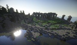 Ruins of old Minecraft Map & Project