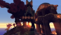 The Elven Citadel Minecraft Map & Project