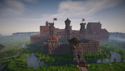 """The Castle of the Order"" Minecraft Map & Project"