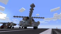 Westland WS-61 Sea King (RAF SAR, RN) Minecraft
