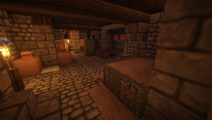 A storage room