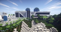 MODERN HOUSE 8 new update Minecraft Map & Project