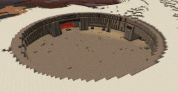 Order: The Docking Bay (Tatooine) Minecraft Map & Project