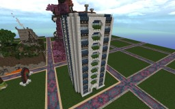 Apartment block- Build it Minecraft Map & Project