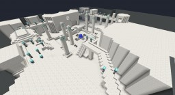 Bespin Cloud City PvP Map (Star Wars Battlefront) Minecraft